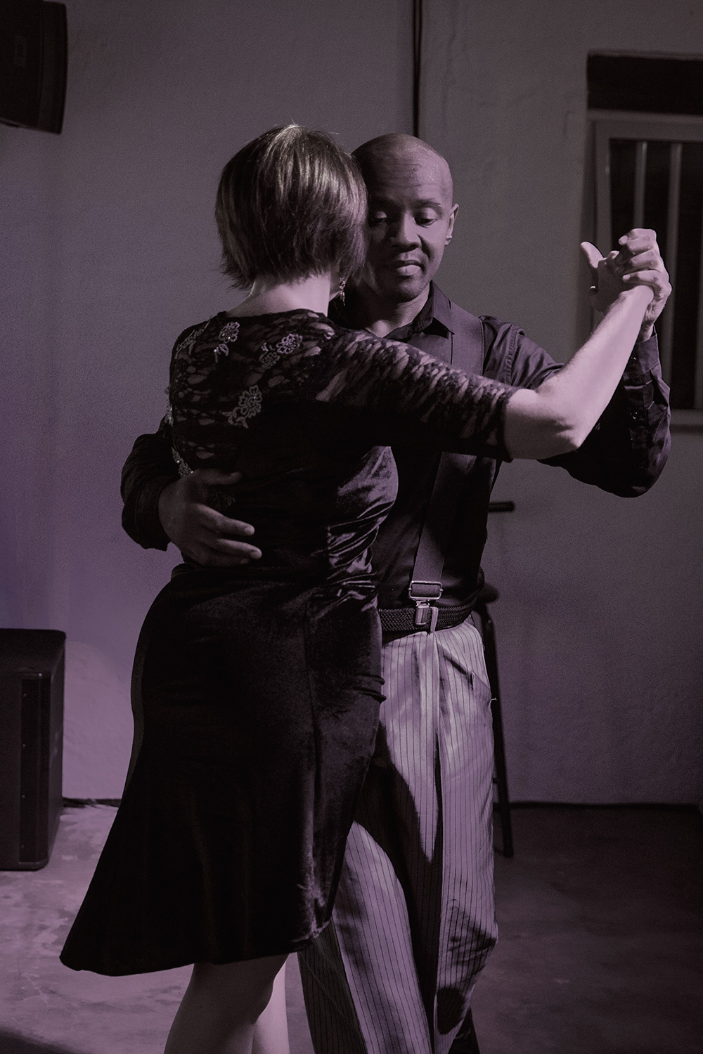 Photographing a tango band