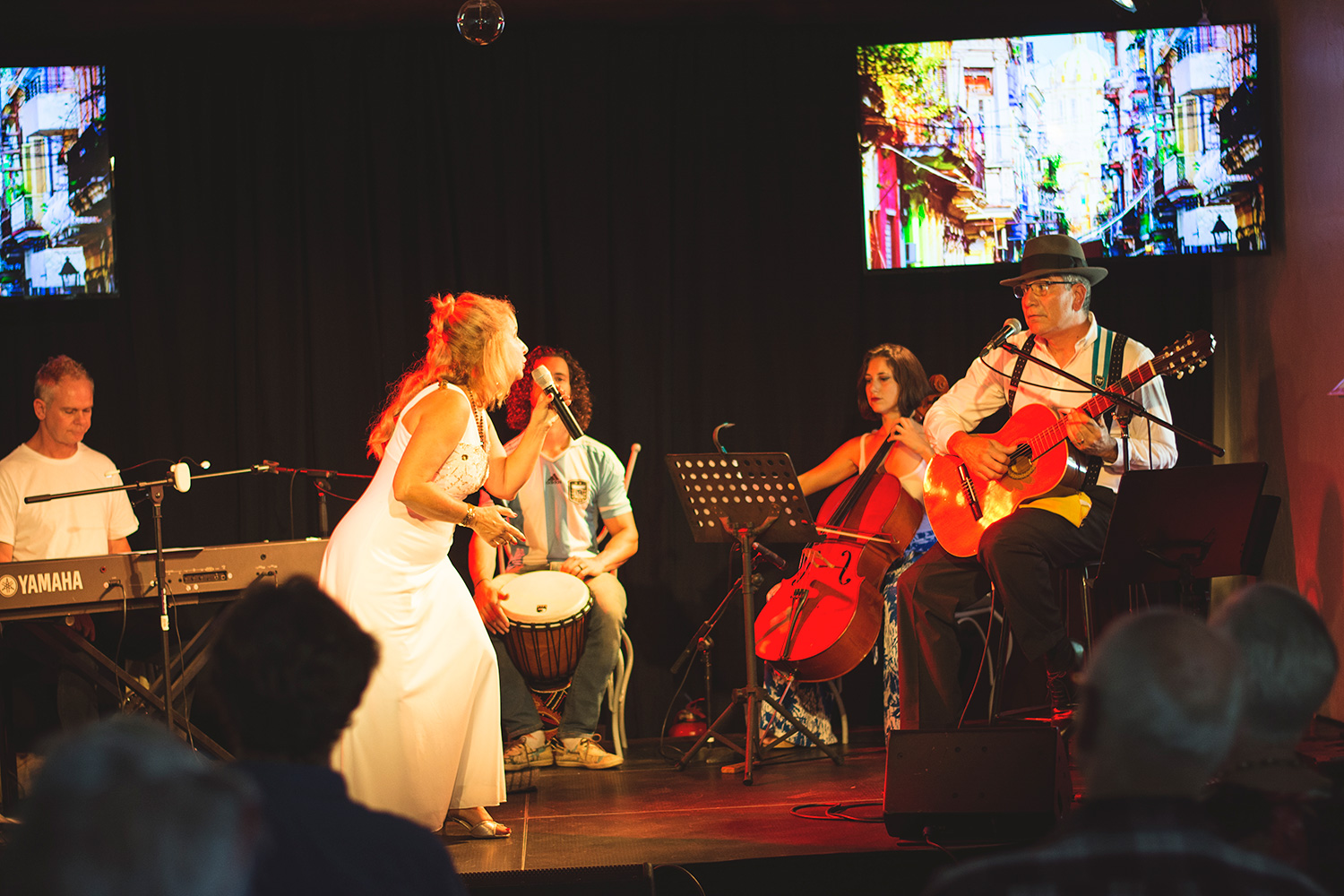 Tango band in Cape Town