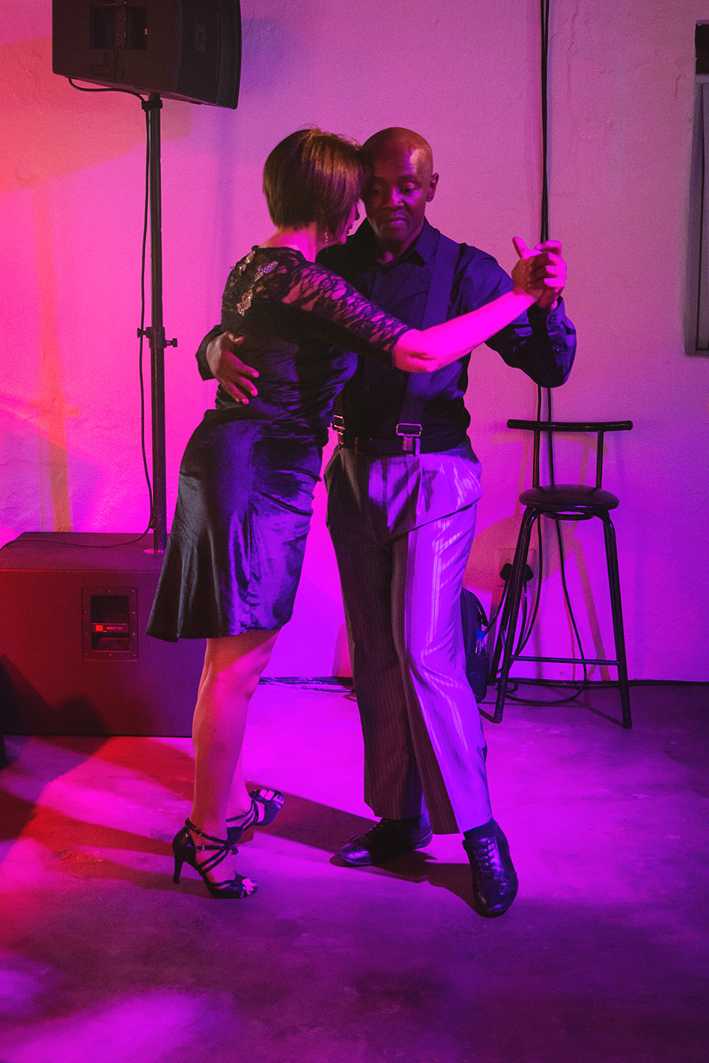 Tango dancers from Cape Town